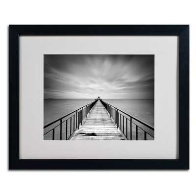 """""""Withstand"""" by Michael de Guzman Matted Framed Photographic Print- 16x20- Framed - With Mat - Wayfair"""