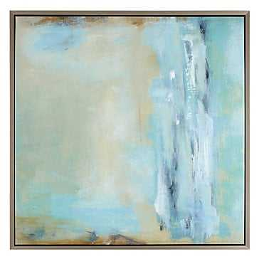 Waterfall Wonder 1 - 42''W x 42''H - Champagne Frame without Mat - Z Gallerie