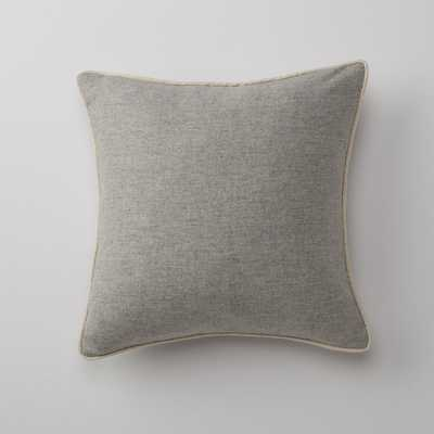 Gray Classic Piped Pillow - Schoolhouse Electric