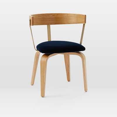 Niles Swivel Office Chair - Upholstered - West Elm