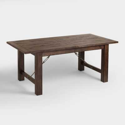 Wood Garner Extension Dining Table - World Market/Cost Plus