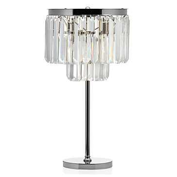 Luxe Crystal Table Lamp - Z Gallerie