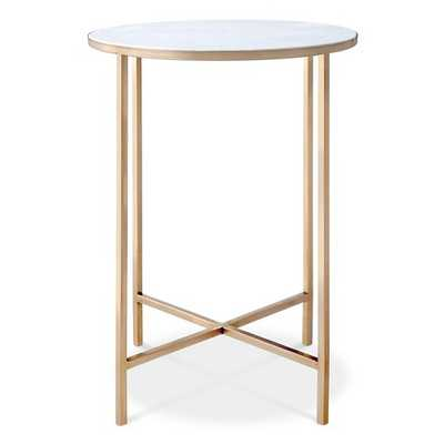 Marlton End Table Gold - Target