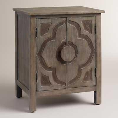 Gray Kiran Lotus Cabinet - World Market/Cost Plus