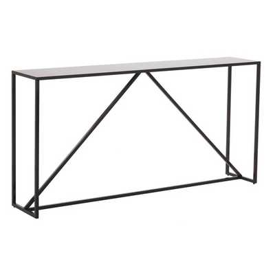 Strut Console Table - Slate - AllModern