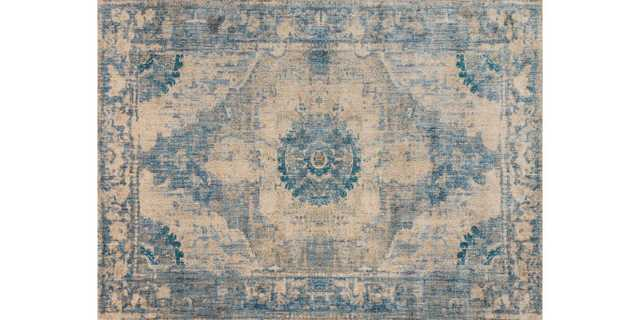 KV-02 SAND / SKY - Magnolia Home by Joana Gaines Crafted by Loloi Rugs