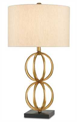 ORNAMENT TABLE LAMP - Currey and Company