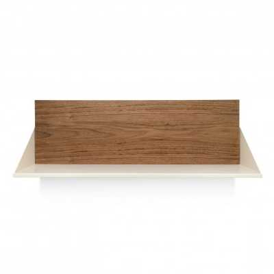 Wonder Wall Shelf - Walnut/Ivory - BluDot