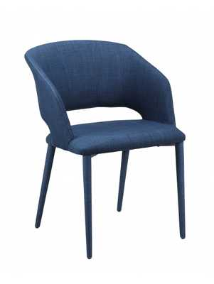 Matleena Dining Chair, Navy - Lulu and Georgia