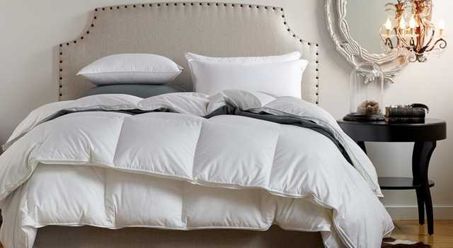 Down Duvet Insert - King: Havenly Recommended Basic - Noble Feather Co.