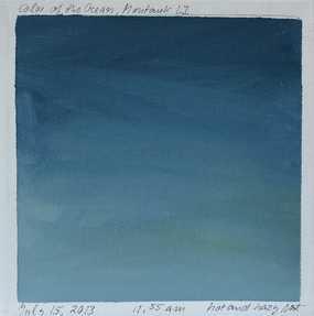 Blue Painting 6 - 14x14, Unframed- No mat - Artfully Walls