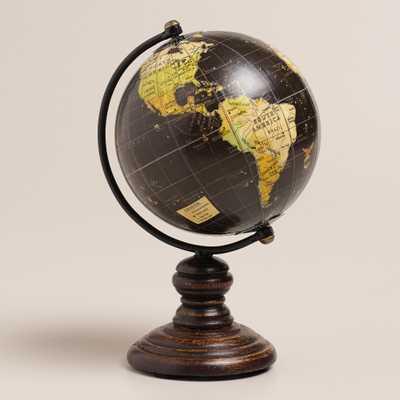 Mini Black Globe on Stand - World Market/Cost Plus