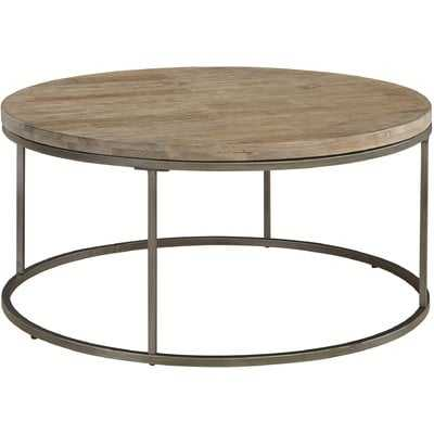 Alana Round Coffee Table - Acacia Wood - Wayfair