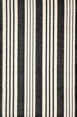 BIRMINGHAM BLACK INDOOR/OUTDOOR RUG - Dash and Albert