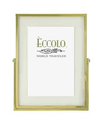 Gold Frame Standing Frame 4x6 or 5x7 - Alma Decor