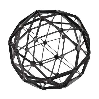 Black Structural Orb. - Rosen Studio