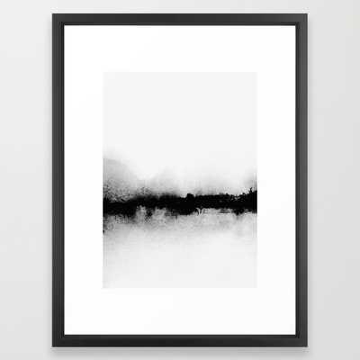 "L1 Art Print - 20"" x 26"" - Vector Black Frame with Mat - Society6"