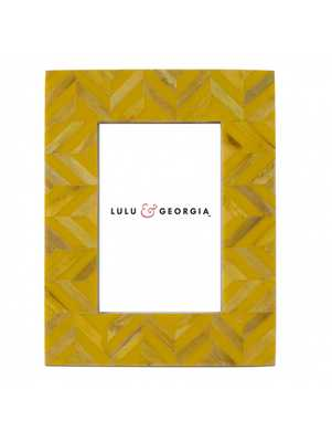 Orleans Picture Frame, Mustard Yellow - Lulu and Georgia