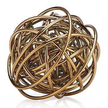 Orbit Sphere - Gold - Z Gallerie