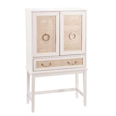 Newhaven Bar Cabinet with Wine Storage - Wayfair