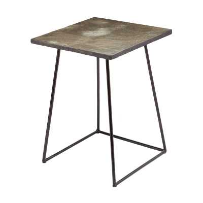 Linear Concrete accent table - Tall - Rosen Studio