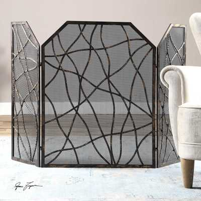 Dorigrass, Fireplace Screen - Hudsonhill Foundry
