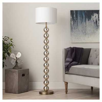 Stacked Ball Floor Lamp - Mercury Glass - Target