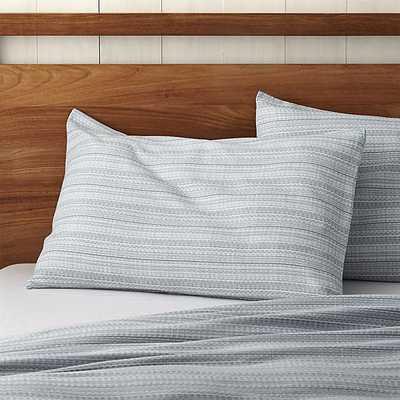 Nasoni Standard Pillow Sham - Crate and Barrel