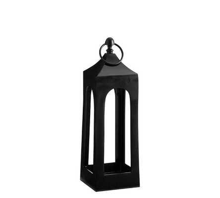 Caleb Lantern - Small - Black - Pottery Barn