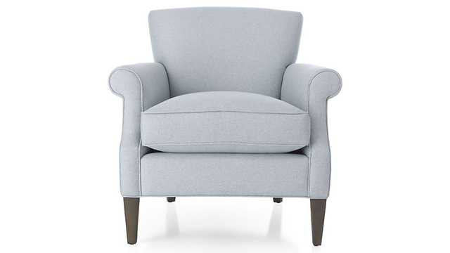 Elyse Chair - Silvermist - Crate and Barrel