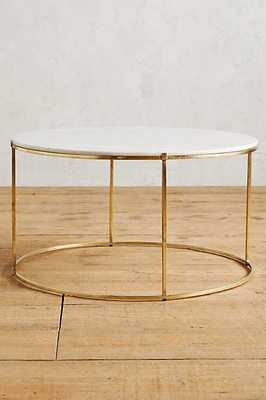 Leavenworth Marble Coffee Table - Anthropologie