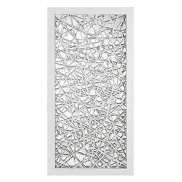 Platinum Reflection - Framed(Matte White), No Mat - Z Gallerie