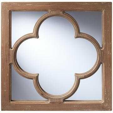 Antique Window Pane Wall Mirror - Home Depot