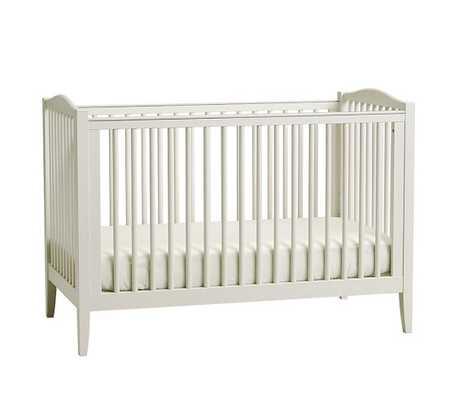Emerson Convertible Crib - Cloud White - Pottery Barn Kids
