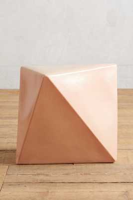 Calo Side Table - Powder Pink - Anthropologie