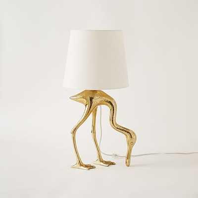 Rachel Kozlowski Spoonbill Table Lamp - West Elm