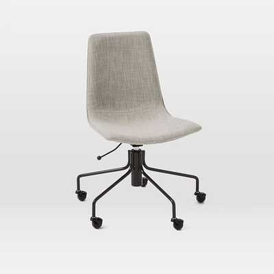 Slope Upholstered Office Chair - West Elm