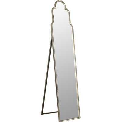 Cerano Arched Silver Mirror - Wayfair