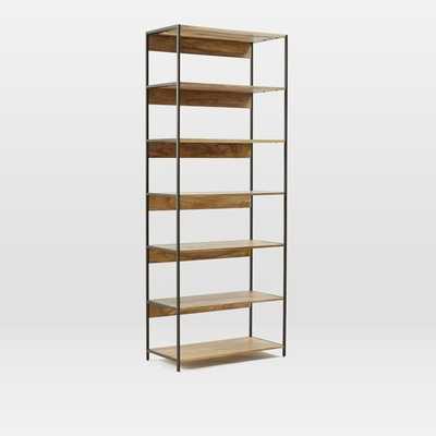 "Industrial Modular 33"" Bookshelf - West Elm"