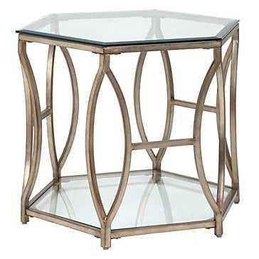 Brooke Hexagonal End Table - Z Gallerie
