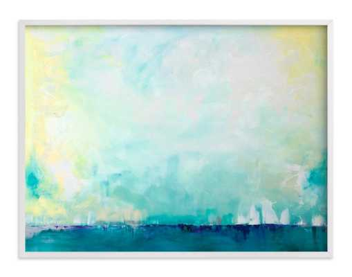 "Sail - 40"" x 30"" - White Frame - Minted"