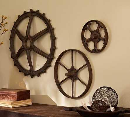 Rustic Gears - Set of 3 - Pottery Barn