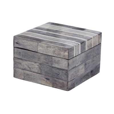 Gray and White Bone Boxes - sm - Rosen Studio