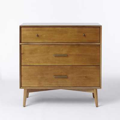 Mid-Century 3 - Drawer Dresser - Acorn - West Elm