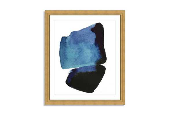 """Kate Roebuck, Water Colorstudy 2 - 20"""" x 24"""" - Framed (Gold) with Mat - One Kings Lane"""