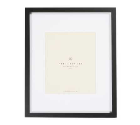 "Wood Gallery Single Opening Frames - Black - 8"" x 10"" - Pottery Barn"