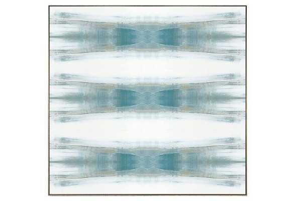 "Benson-Cobb, Beneath Textile No. 1 - 34""L x 34""W - Silver Frame without Mat - One Kings Lane"