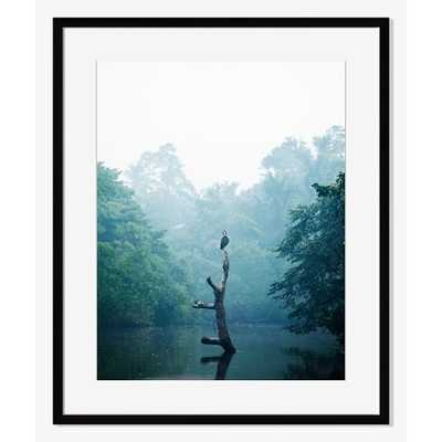Ginganga River - 20x24 - Framed with Mat - West Elm