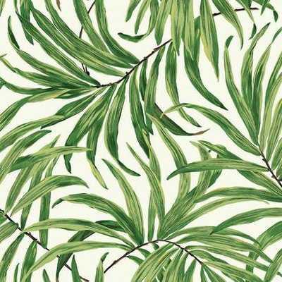 Bali Leaves Wallpaper - AT7050 - York Wallcoverings