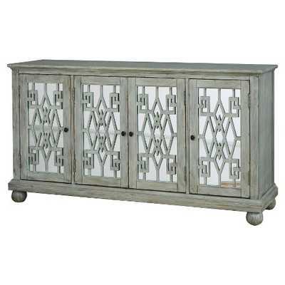 Tasha Console Cabinet with 4 Doors - Home Meridian - Target